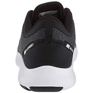 Nike Women's Flex Experience Run Shoe, Black/White-Cool Grey-Reflective Silver, 8 Regular US
