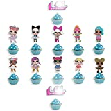 24pcL O LCake cupcake tooper suprise girl's birthday party candle suprise dolls birthday cupcake toppers and cake toppers party cake decoration