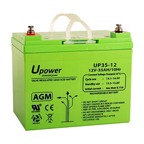 Master U-Power Mu-Up35-12 Batería Plomo Agm 35Ah 12V