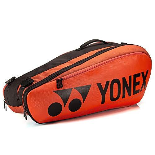 YONEX 92026 Tasche für Badminton-/Tennisschläger, Kupfer-Orange, 6 Stück