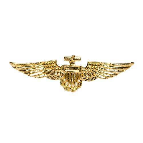 PARTY DISCOUNT Brosche Piloten-Abzeichen, Gold