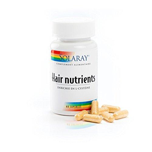 Solaray – Hair Nutrients – Piel para el cabello – Caja de 60 cápsulas