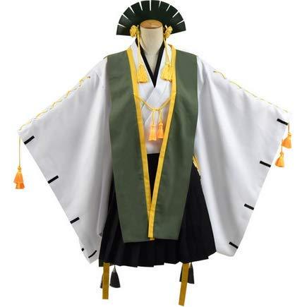 IFANSTYLE Anime Azur Lane Matsukaze Cosplay Kostuum Halloween Carnaval Party Dames badjas Kimono uniform bestrijden, groen, XXXL