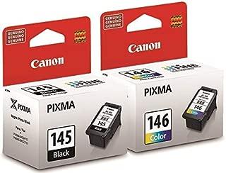 Canon PG-145BK CL-146 8275B001AA 8277B001AA iP2810 MG2410 MG2510 MG2910 Ink Cartridge Set (Black & Color, 2-Pack) in Retail Packaging