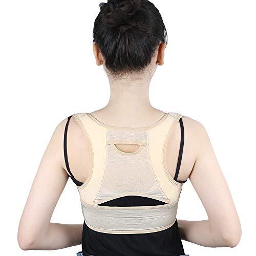 QHGao Correctieriem voor de rugleuning, onzichtbare corrigerende kleding voor vrouwen ondergoed, perfecte houding voor het verlichten van rugpijn