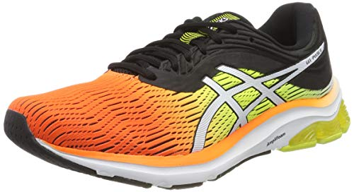 Asics 80044 11Zapatillas HombreNaranjaShocking Pulse OrangeBlack EU Running para Gel de fvYgy7b6