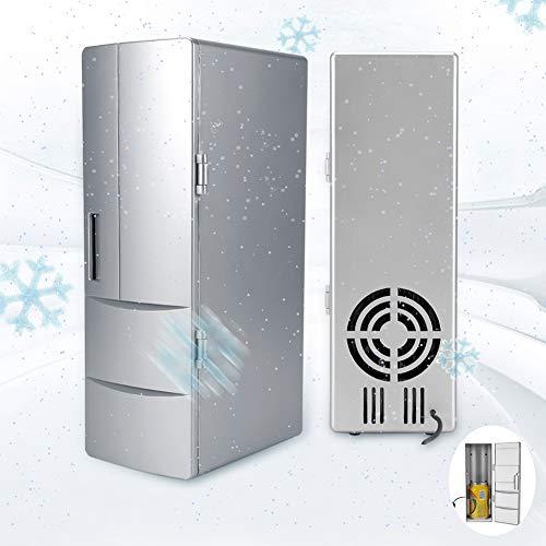 LSAR Mini Frigorífico Congelador Enfriador Calentador Frigorífico Frigorífico, Nevera, Nevera USB, Coche para el hogar para la...