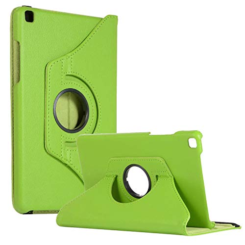 SM-T290 Rotating Case SM-T295 Cover, Galaxy Tab A 8.0 2019 Case, Coopts Slim Anti-Shock Shell 360 Degree Rotating Swivel Typing & Viewing Stand Cover for Samsung Galaxy Tab A8 T290 T295 2019, Green