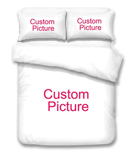 Bob Wat Custom Bedding 3pcs Sets Queen King Duvet Cover Set Personalized Bedclothes Bed (Full)