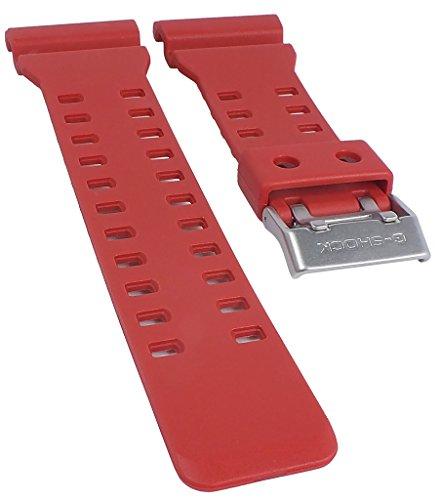 Ersatzband für Casio Herrenarmbanduhr G-shock Resin rot ga-100C ga-110ac xl-länge