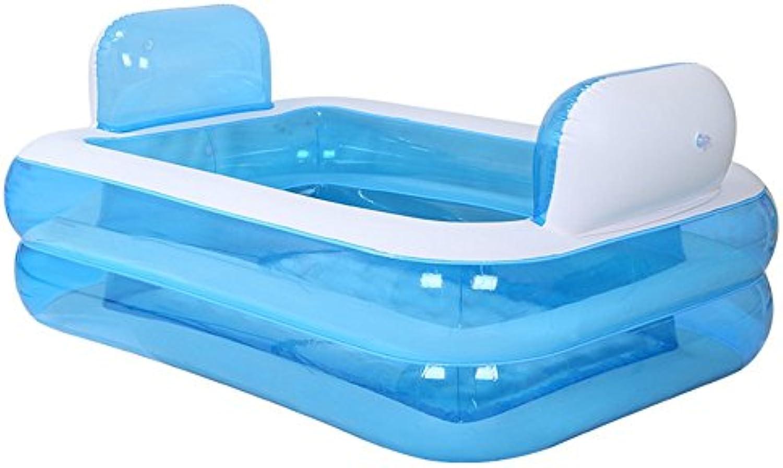 Erwachsene PVC-tragbare faltende aufblasbare Badewanne mit für Familien-Badezimmer