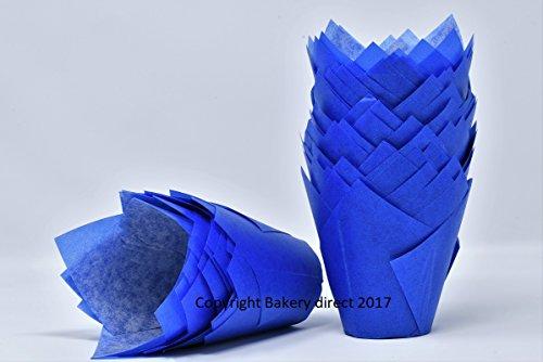 Bakery direct Ltd 200Blau Tulip Muffin Wraps Fällen kostenlosen