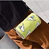 LGMIN Coca-Cola patrón en Forma de Helado Bolsa de Hombro Messenger Bag (Negro) Apariencia de Moda (Color : Green)
