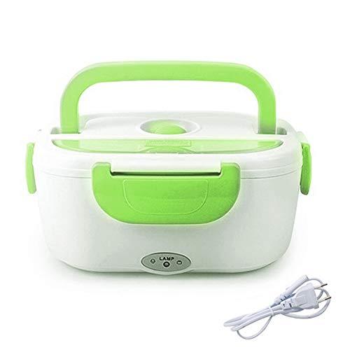 Fiambrera eléctrica eléctrica con calefacción para el hogar del coche cajas de almuerzo de plástico contenedores de almacenamiento de alimentos portátil plato Bento Box cocina