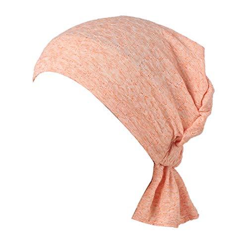 MQIMAL Turban lässige Chemotherapie Krebs elastischen Kopf Blase Baumwolle Capes nationalen Jacquard Wildtuch Tuch Stirnband Außenschlauch Maske multifunktionale Kappe bei Nacht Sport Hut,meshblood