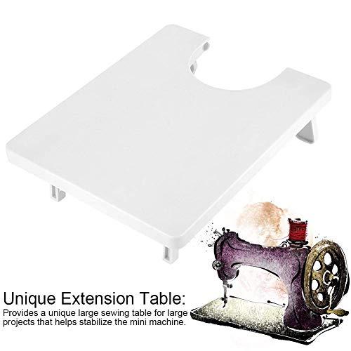 Jeffergarden Naaimachine-accessoires, draagbare ABS-plastic minnenaaimachine met uitbreidingstabel