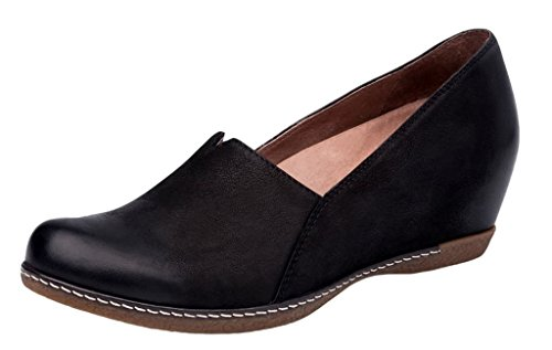 Dansko Women's Liliana Black Wedge 8.5-9 M US