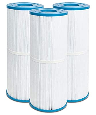 Futrue Way Hot Tub Filter Replacement for Jacuzzi J200 Series, Pleatco PRB50-IN, Unicel C-4950, Filbur FC-2390, 50 sq.ft Hot Spring Spa Filter Cartridges, 3-Pack
