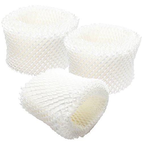 3unidades de repuesto Honeywell HCM-350humidificador filtro, compatible con Honeywell hac-504, HAC-504AW Filtro de aire
