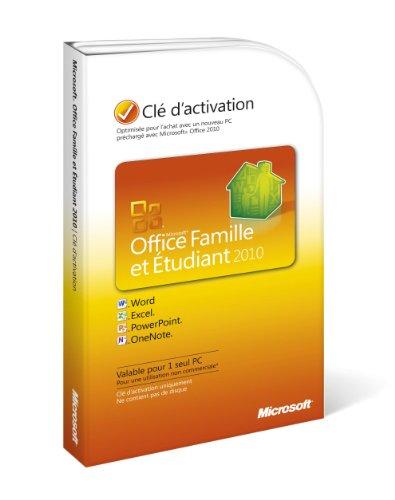 Microsoft Office Home & Student 2010 FR - Suites de programas (1...