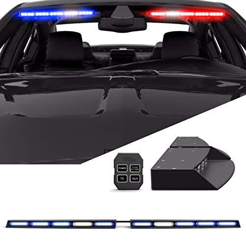 sun visor police lights - 9