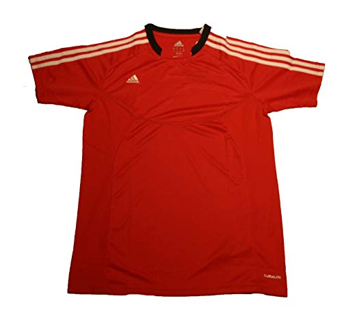 Adidas Big Boys' Youth Predator Style Climalite Jersey, Collegiate red/black, X-Large