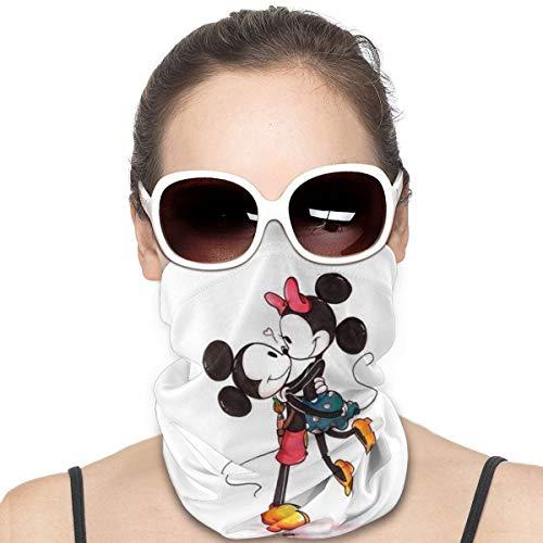Yellowbiubiubiu - Pasamontañas unisex con diseño de Mickey Mouse con diseño de anime de Mickey Mouse