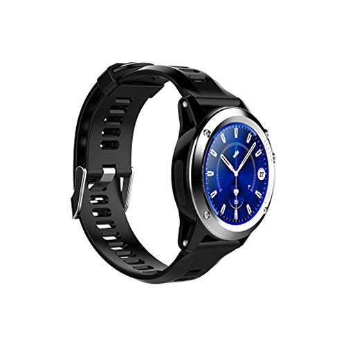 HN Smart Watch 3G Internet Card Chiamata GPS Frequenza Cardiaca Outdoor Sports IP68 Impermeabile,Silver