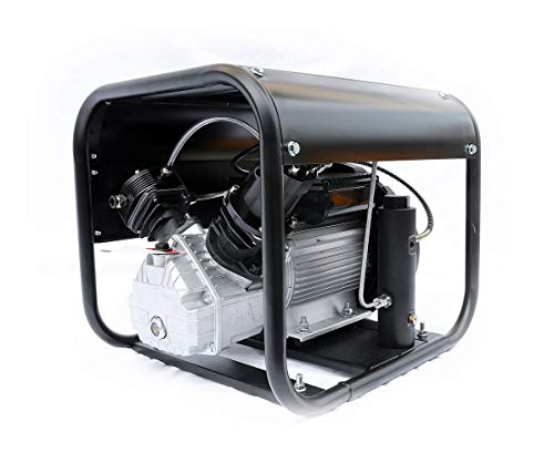 HPDAVV High Pressure Air Compressor -110v/60Hz - 2.1CFM @ 4500 Psi - Scuba Tank/PCP Rife/Paintball Air Gun Filling Station
