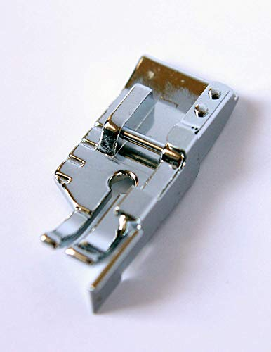 Quarter Inch Quilting Foot with Guide Sewing Machine Presser Foot - Fits All Low Shank Snap-On Singer, Brother, Babylock, Euro-Pro, Janome, Kenmore, White and More