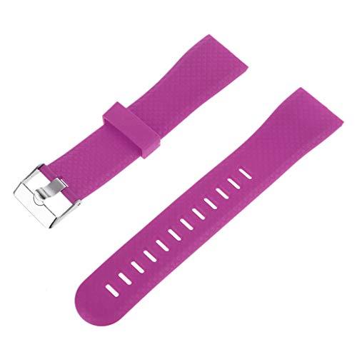 Haia7k4k Bracelet de rechange réglable en silicone pour montre connectée 116 Plus