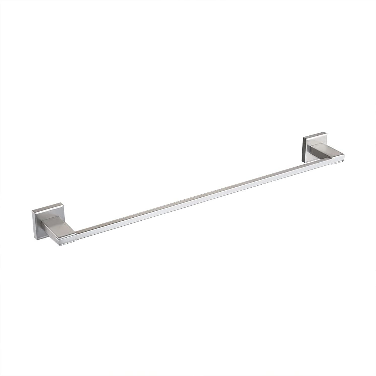 KES Bathroom Towel Bar Brushed SUS 304 Stainless Steel Bath Wall Shelf Rack Hanging Towel Hanger 23-Inch Contemporary Style, A2400S60-2