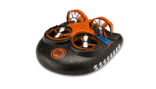Amewi 25308, orange Trix-3 in1 Hovercraft Drohne