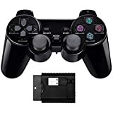 Doppio shock Controller di gioco wireless compatibile con PS1 / PS2 / PC/raspberry pi