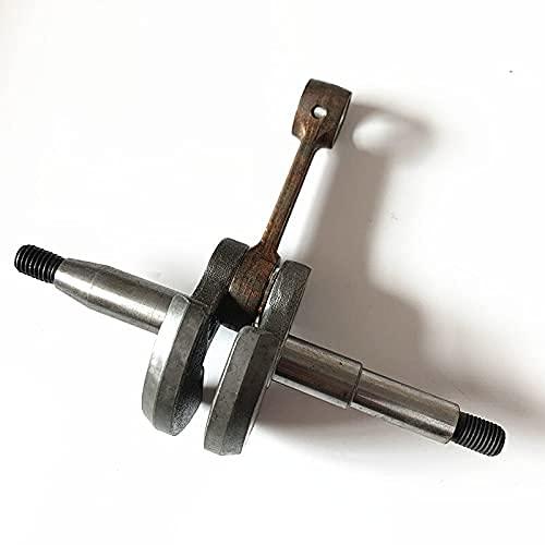 Pieza de repuesto para cigüeñal MC con cojinete para motosierra ZOMAX 4000 4003 4020 4010 Biela de cigüeñal para motosierra - (Tipo: con cojinete) (Color : NO bearing)