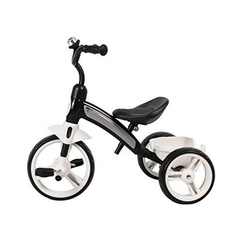 GYF Fácil de Regalos Llevan una niña Hijos pequeños niños en Triciclo Triciclo de niños de 1 a 3 años de Edad, niño de 3-6 años de Edad, es el Amor (Color : Black)