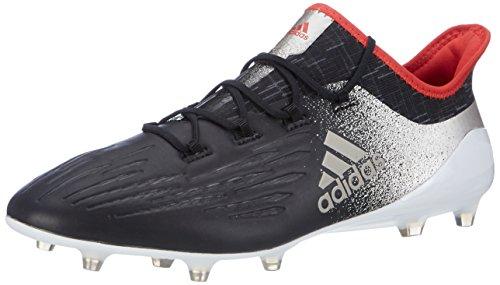 Adidas Damen X 17.1 FG für Fußballtrainingsschuhe, Schwarz (Negbas/Metpla/Rojbas), 40 2/3 EU
