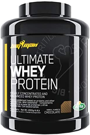 Big Man Ultimate Whey Protein - 2 kg Frappe Biscuit