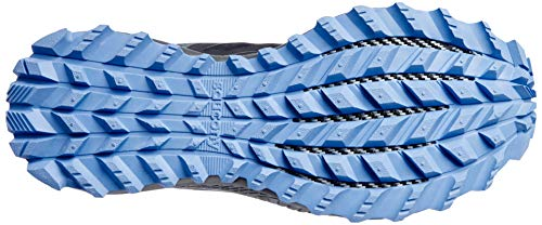 Saucony Women's Peregrine ISO Trail Running Shoe, Gunmetal, 8 M US
