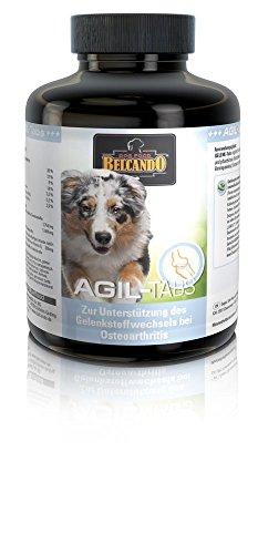 Belcando AGIL-Tabs [120 STK.] | Gelenkunterstützung für den Hund | Nahrungsergänzung für Hunde