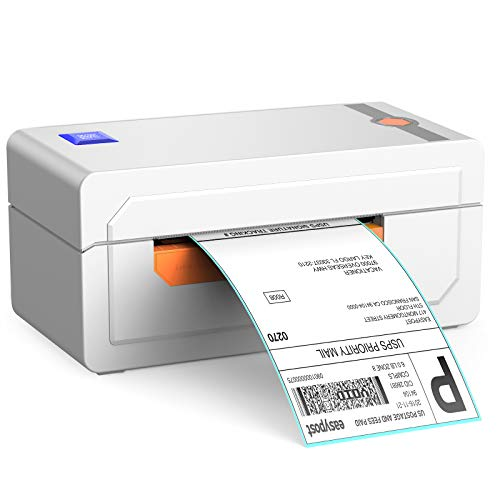 Alfuheim Thermal Label Printer with Bluetooth Connectivity 4x6 - High Speed Printing at 150mm/s -Barcode Printer for Shipping Compatible with UPS WorldShip,Etsy,Ebay, Amazon,Shopify,etc