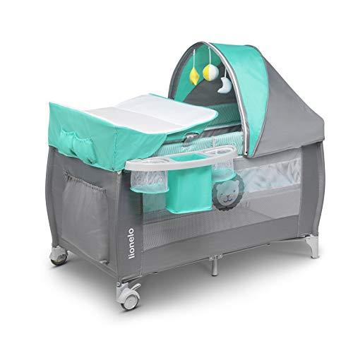 color:beige arco de juego rollos Cuna de viaje parque infantil Happy Baby mosquitero cambiador