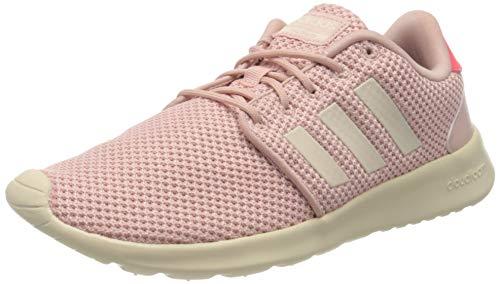 adidas Women's QT Racer Running Shoe, Pink Spirit Linen Shock Red, 6.5 UK