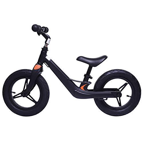 YUMEIGE Balance Bikes Sport Balance Bike Hoge Multi-range Aanpassing, Peuter Balance Bike 360 Roterende Stuur om Meer Acties, Kids Glider Fiets, Lading 25kg 2-7 Jaar 2019 black