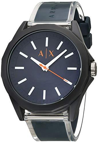 Catálogo de Reloj Armani Exchange Azul los 5 mejores. 4