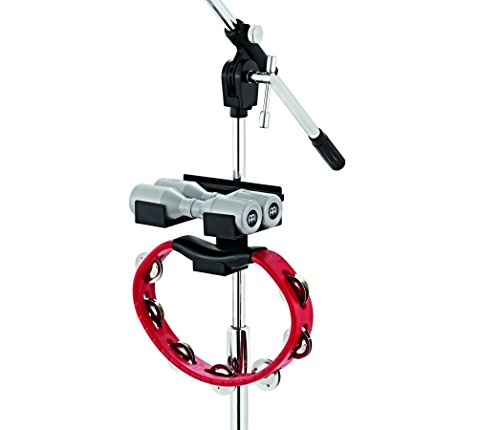 Meinl Mini Percussion Rack for Tambourines and Shakers - NOT MADE IN CHINA - Clamps on Any Common Mic or Percussion Stand, 2-YEAR WARRANTY (MC-SHTA)