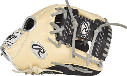 Rawlings Heart of The Hide R2G Francisco Lindor Gameday Model Baseball Glove, Camel/Black/Grey, 11.75 inch, Pro I Web, Right Hand Throw