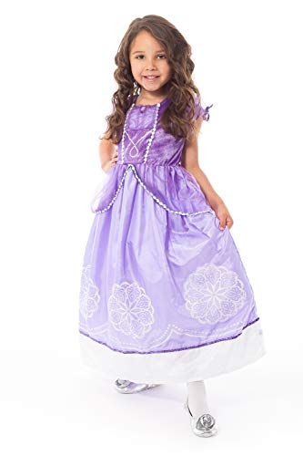 Little Adventures Purple Amulet Princess Dress Up Costume (Medium Age 3-5)