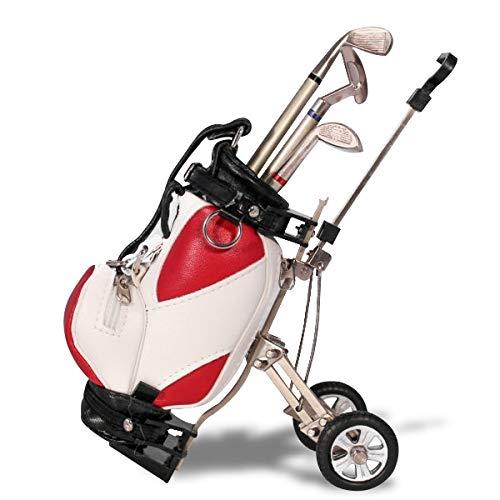 Eurowebb golfclub 3-delige golfclub in golftas, rood