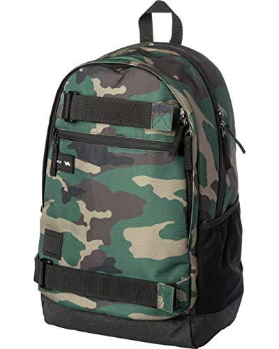 RVCA Herren CURB BACKPACK III Rucksäcke, camouflage, Einheitsgröße